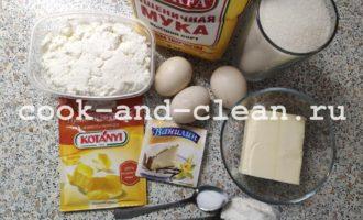 творожный кекс в духовке
