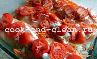 тилапия в духовке рецепты с фото