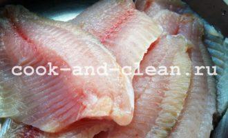 тилапия рецепты приготовления в духовке