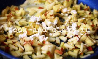 тонкие блины с яблоками рецепт