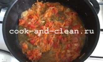 тушеная капуста рецепт в сковороде пошаговый