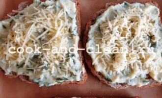 бутерброды с картошкой в духовке горячие