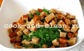вкусный и простой салат из куриной грудки