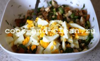 вкусный салат с куриной грудкой рецепт