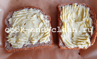 горячие бутерброды с картошкой яйцо