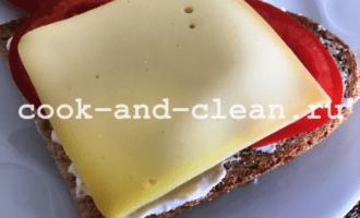горячие бутерброды чеснок