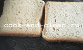горячий бутерброд с картошкой и колбасой