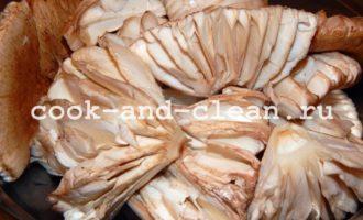 грибы зонтики в кляре рецепт