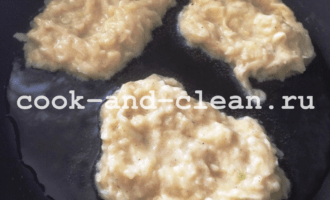 драники из кабачков и картофеле рецепт с фото