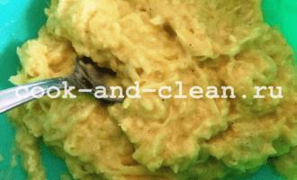 драники из кабачков и картофеля рецепт