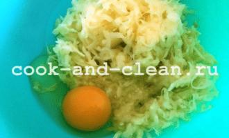 драники из картофеля и кабачков в духовке