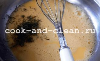 заливной пирог с капустой фото рецепт