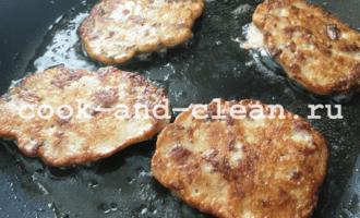как приготовить котлеты из куриной печени