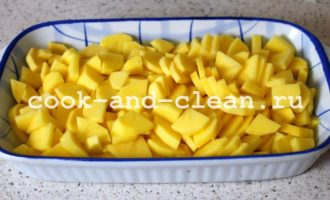 куриные голени с картошкой в духовке рецепты
