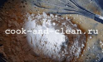 пирог с капустой быстро в духовке заливной