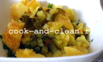 рецепты оливье без мяса
