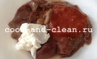 рецепт куриной печени на сковороде фото