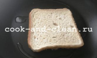 рецепт с фото горячие бутерброды с картошкой и луком