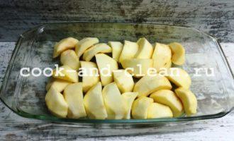 рецепт яблочного крамбла