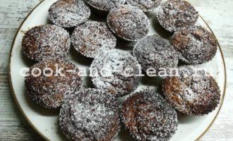 Простые кексы с тыквой