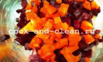 винегрет без картошки рецепт