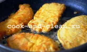вкусные отбивные из куриной грудки на сковороде