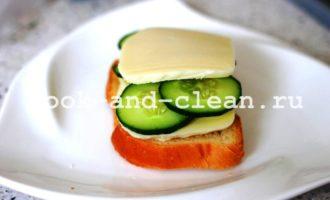 горячие бутерброды с моцареллой и помидорами фото