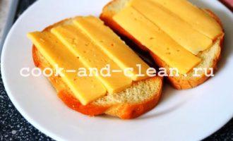 горячие бутерброды с сосисками в духовке