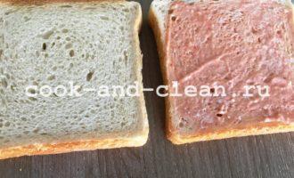 горячий бутерброд с огурцом