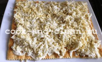 закусочный торт с грибами с фото рецепт пошагово