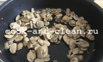 закусочный торт с грибами с фото рецепт