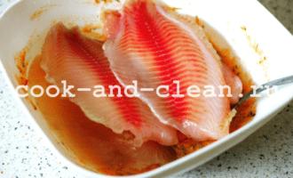 как приготовить рыбу в духовке с овощами