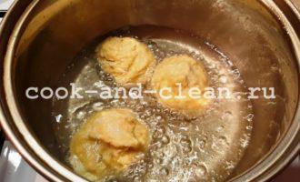 картофельные шарики из пюре рецепт