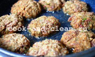 котлеты из гречки с куриной печенью рецепт