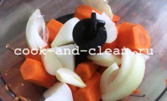 морковные котлеты из манки