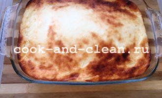 приготовить творожный пудинг в духовке