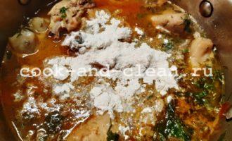 приготовление чахохбили из курицы фото