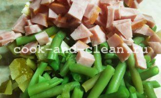 простой рецепт салата со стручковой фасолью