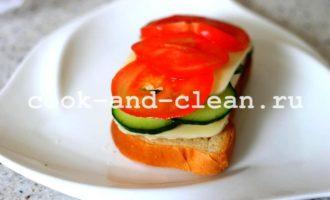 рецепт горячих бутербродов с моцареллой