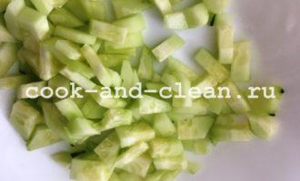 рецепт окрошки на айране