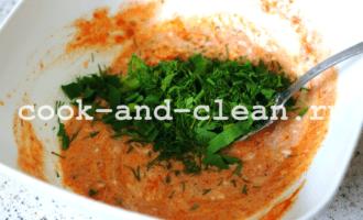рыба под овощами в духовке