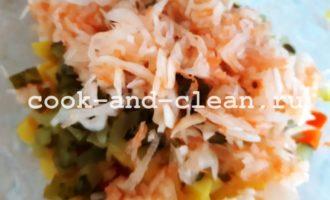 салат винегрет рецепт с квашеной капустой