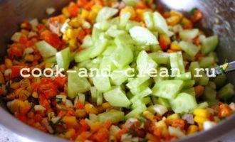 салат из печени трески фото