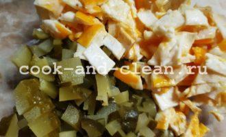 салат стручковая фасоль рецепт