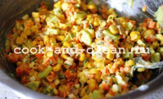 салат с печенью трески простой рецепт