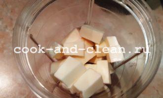 форшмак с сыром и морковью