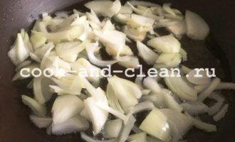 хек с овощами пошагово