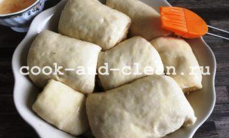 хлеб в духовке с сыром и чесноком фото