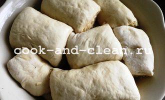 хлеб с сыром и чесноком в духовке пошагово рецепт