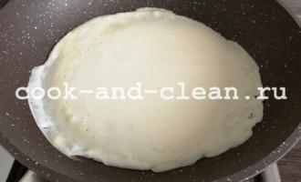 блины со сливочным маслом рецепт фото